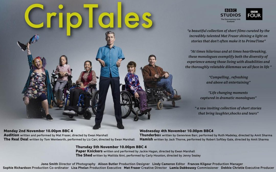 CripTales comes to BBC Four and in print!